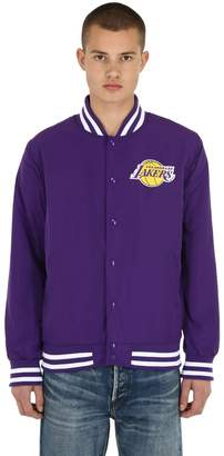 New Era Nba Team Apparel Bomber Jacket