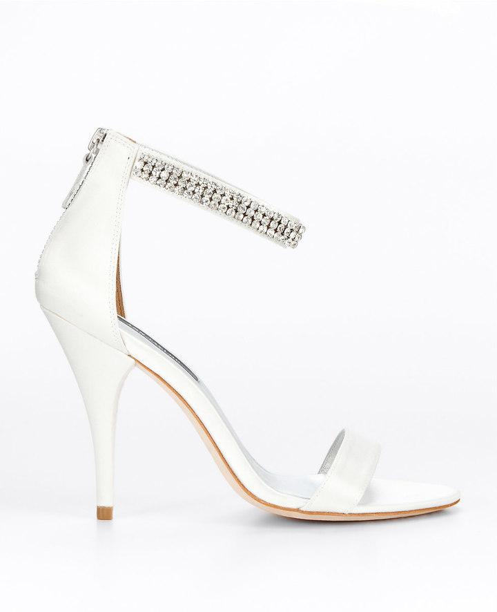 Ann Taylor Katrina Rhinestone Sandals