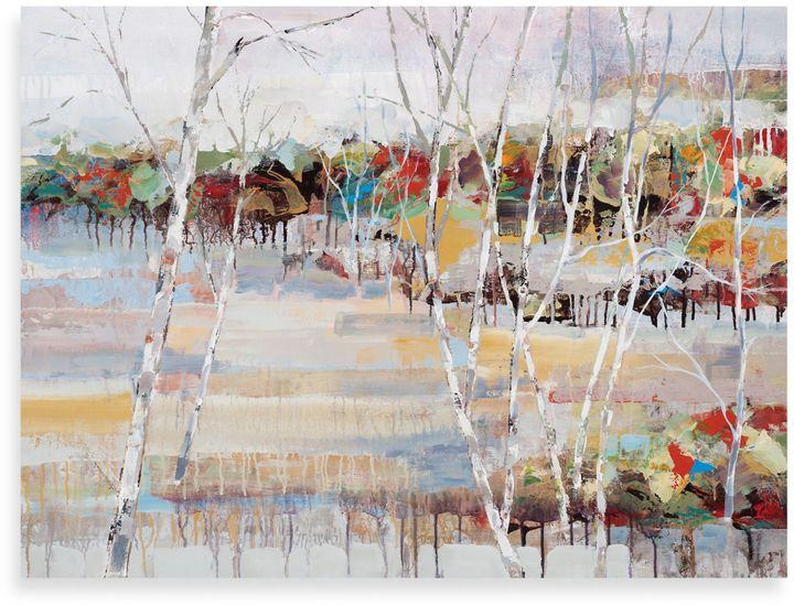 """Bed Bath & Beyond""""Snowy Birches"""" Canvas Art"""