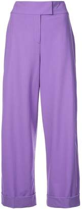 Diane von Furstenberg high waisted trousers