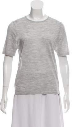 Protagonist Wool & Silk-Blend Knit Top