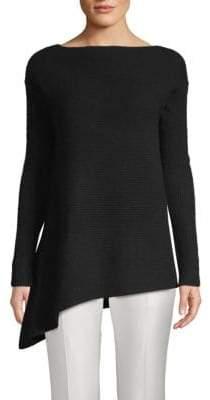 Saks Fifth Avenue Asymmetrical Cashmere Sweater