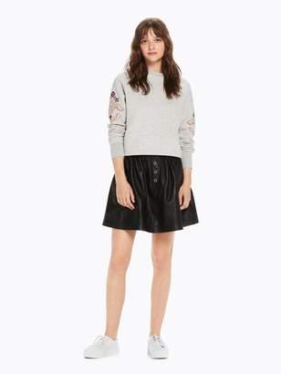 Scotch & Soda Leather Skirt