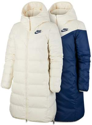 Nike Womens Down Filled Parka - Nude