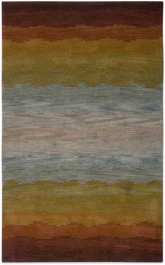 Bed Bath & BeyondRizzy Home Colours Rug in Rust
