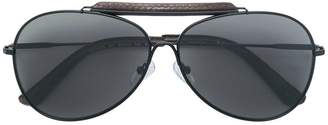 Calvin Klein aviator shaped sunglasses