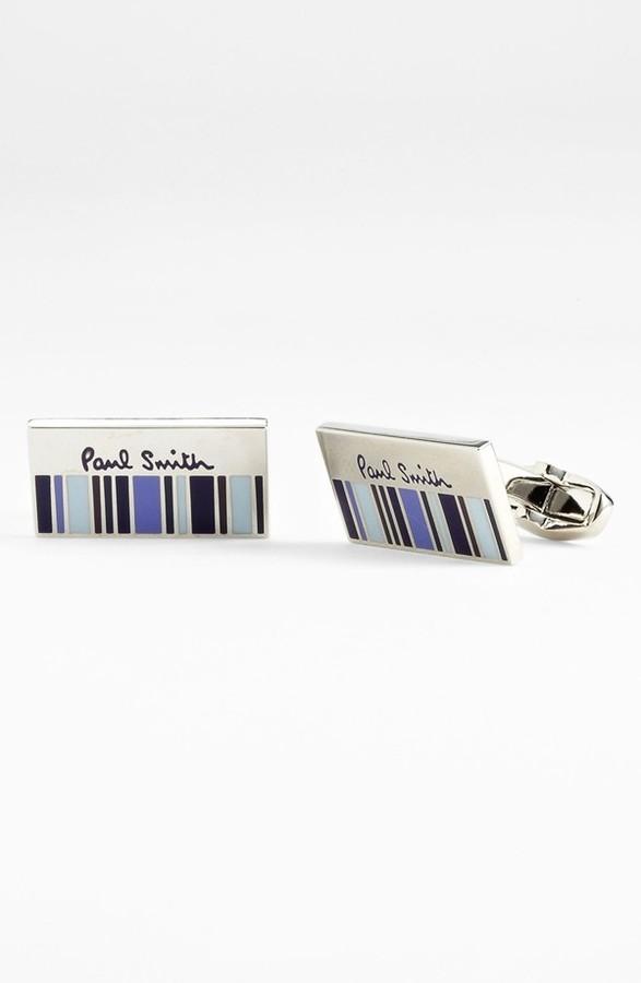 Paul Smith 'Half Stripe' Cuff Links
