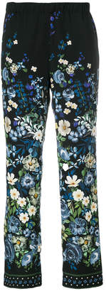 Cambio floral trousers