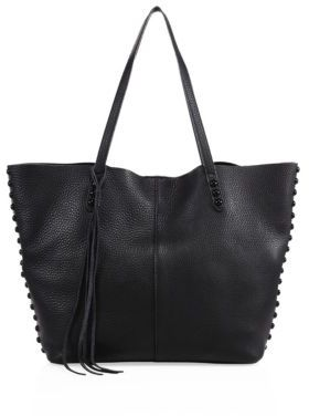 Rebecca Minkoff Medium Unlined Leather Tote $295 thestylecure.com
