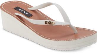 DKNY Mar Wedge Sandals