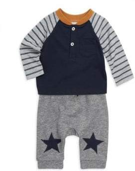 Miniclasix Baby's Two-Piece Tee& Pants Set