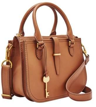 Fossil Ryder Mini Satchel Handbags Tan