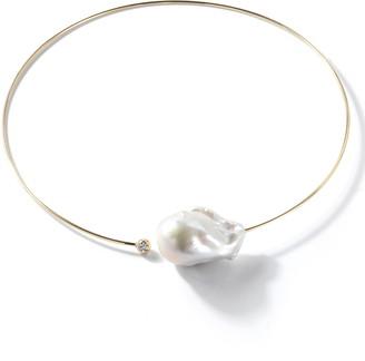 Mizuki Sea of Beauty Baroque Pearl Collar Necklace
