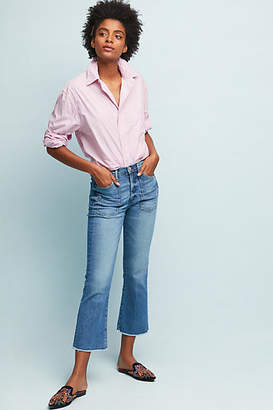 McGuire Sorry Not Sorry High-Rise Cropped Flare Jeans