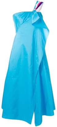 Peter Pilotto ruffled taffeta prom dress
