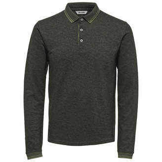 ONLY & SONS Men's Stan Long Sleeve Polo Shirt