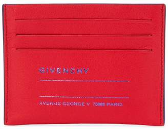 Givenchy printed card holder