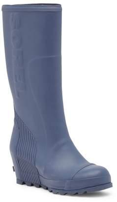 Sorel Joan Tall Wedge Rain Boot