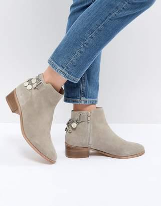 Asos Design DESIGN Amaze Suede Ankle Boots