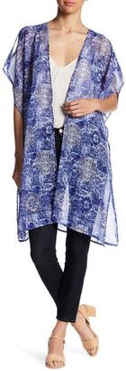 Kensie Printed Kimono $32 thestylecure.com