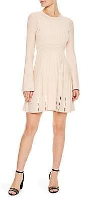 f2354f895d8 Sandro Women s Terez Ribbed Knit Dress