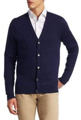 COLLECTION Tech Silk & Cashmere Cardigan
