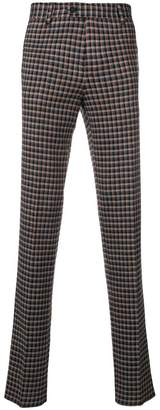 Missoni checked trousers