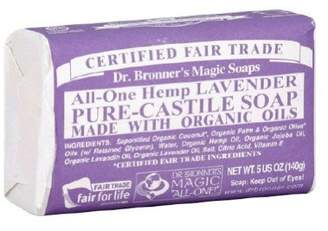 Dr. Bronner's Dr Bronners Magic Soap All One Obla05 5 Oz Lavender Bar Soap