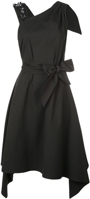 Josie Natori belted dress