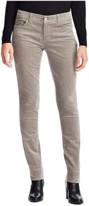 Chaps Mid-Rise Corduroy Skinny Pants