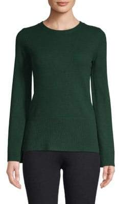 Flared-Sleeve Cashmere Top