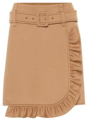 Prada Technical jersey skirt