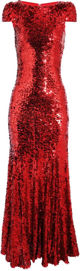 Rachel Gilbert Simone sequined gown