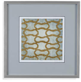 Bassett Mirror 'Spectrum Symmetry I' Framed Print