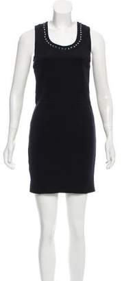 Burberry Embellished Sleeveless Dress