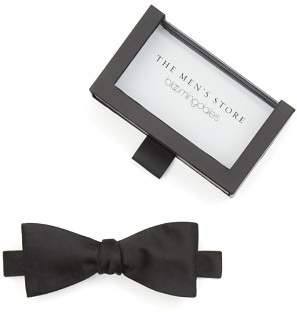 Bloomingdale's The Men's Store at Solid Satin Self-Tie Bow Tie - 100% Exclusive