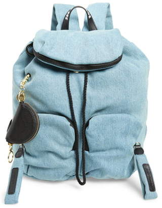 See by Chloe Joyrider Denim Drawstring Backpack