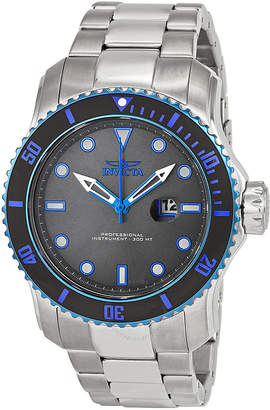 Invicta Pro Diver Grey Dial Stainless Steel Men's Watch