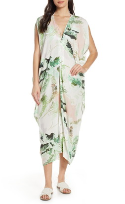 Lenny Niemeyer Floral Cover-Up Caftan