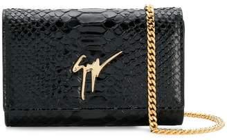 Giuseppe Zanotti Design Cleopatra clutch bag