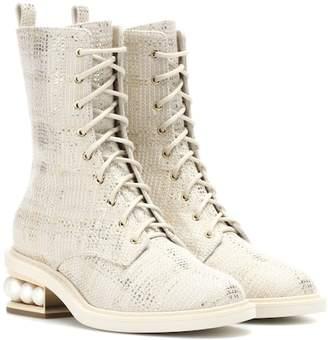 Nicholas Kirkwood Casati Pearl ankle boots