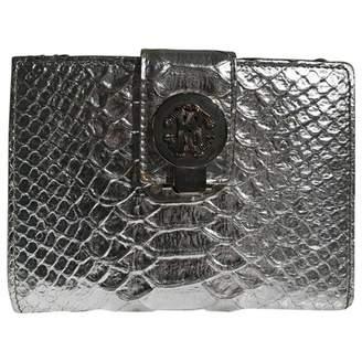 Roberto Cavalli Exotic leathers clutch bag