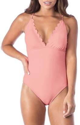La Blanca Swimwear Petal Pusher One-Piece Swimsuit
