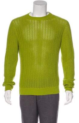 Hermes Cashmere-Blend Cable Knit Sweater