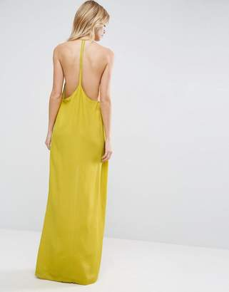 ASOS Halter Strap Back Maxi Dress $53 thestylecure.com