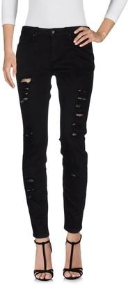Silvian Heach Denim pants - Item 42584844DP
