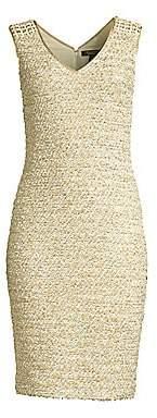 St. John Women's Gilded Eyelash Knit Dress
