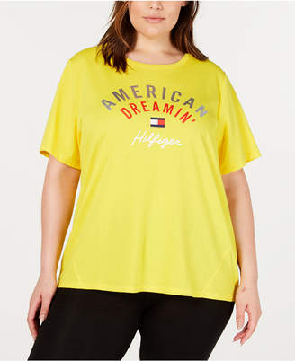 2e85affc8 Tommy Hilfiger Plus Size High-Low Graphic T-Shirt