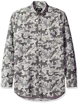 Zanerobe Men's 7ft Long Sleee Camo Shirt