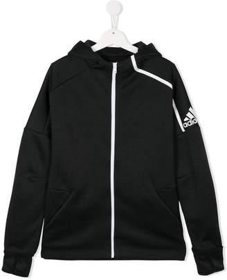 adidas Kids zipped hoodie